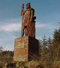 Wallace monument at Dryburgh