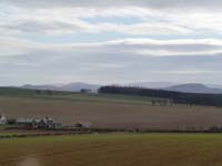 Brownrigg and Cheviots in distance