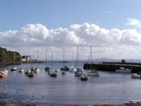 View out from the Path at Aberdour